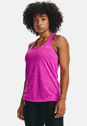 TECH TWIST TRAININGSTANK DAMEN - Sports shirt - pink