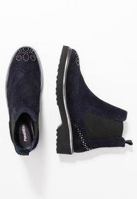 Pinto Di Blu - Classic ankle boots - bleu - 3