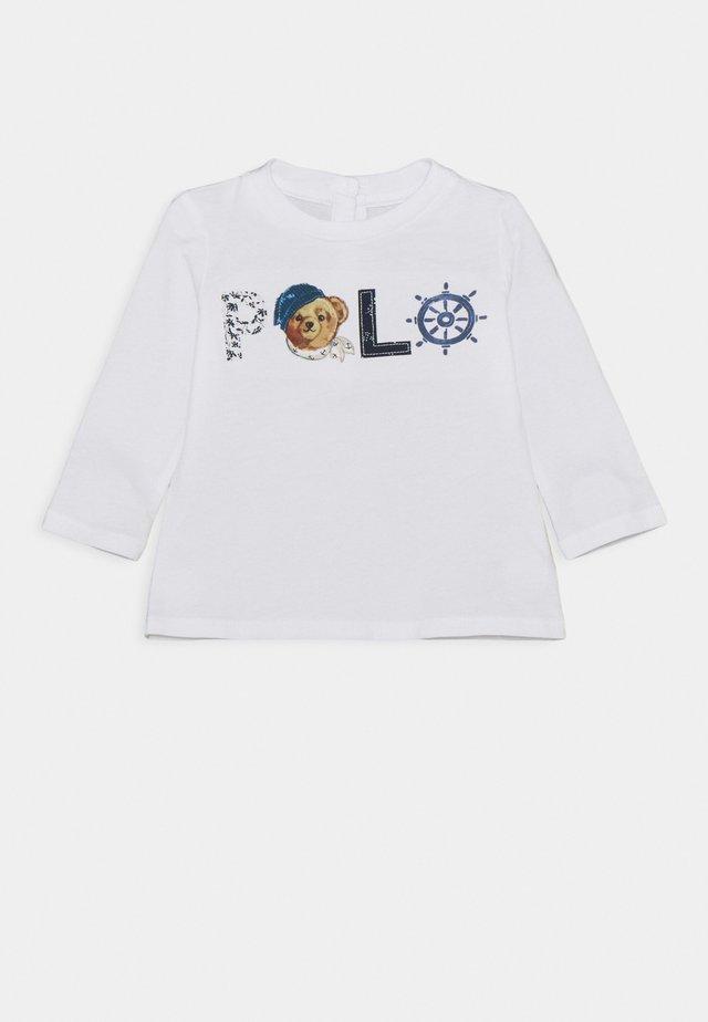 UNISEX - Langarmshirt - white