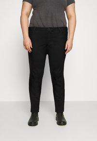 Tommy Hilfiger Curve - HARLEM  - Jeans Skinny Fit - black - 0
