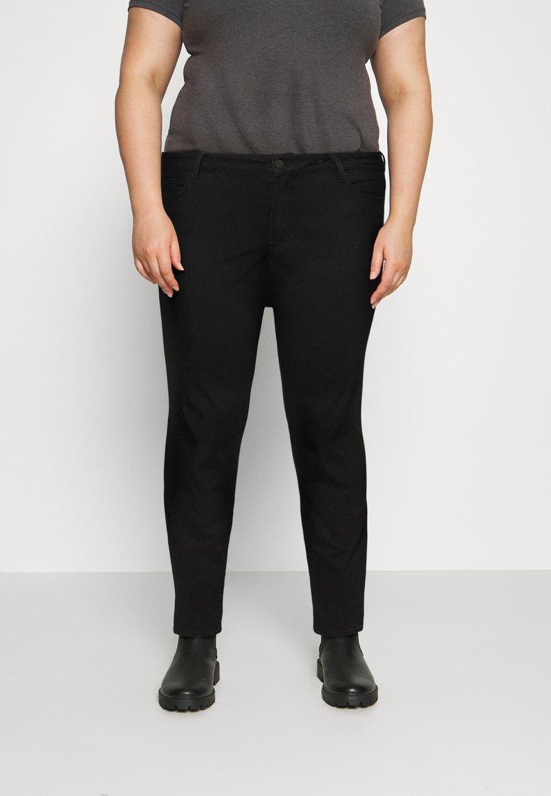 Tommy Hilfiger Curve - HARLEM  - Jeans Skinny Fit - black