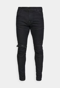 5620 3D ZIP KNEE SKINNY - Skinny džíny - elto superstretch