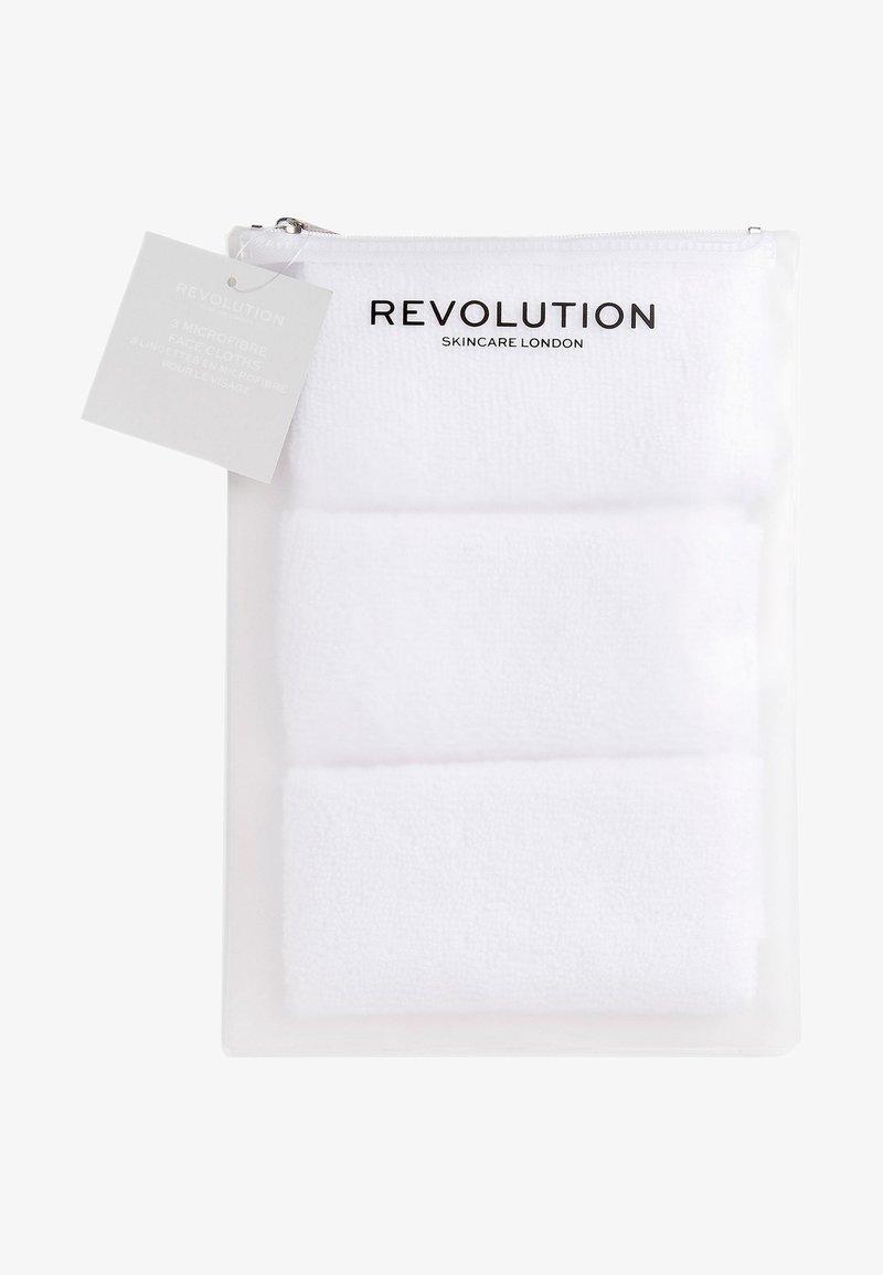Revolution Skincare - MICROFIBRE FACE CLOTHS 3 PACK  - Skincare tool - -
