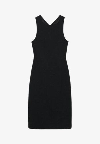 Shift dress - zwart