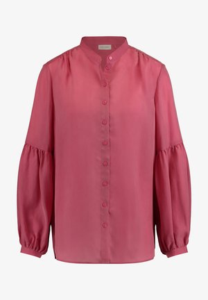 Button-down blouse - peony