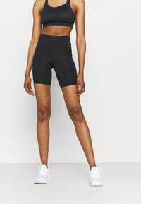 Nike Performance - FAST  - Tights - black/reflective silver - 0
