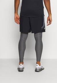 Under Armour - LEGGINGS - Leggings - carbon heather - 2