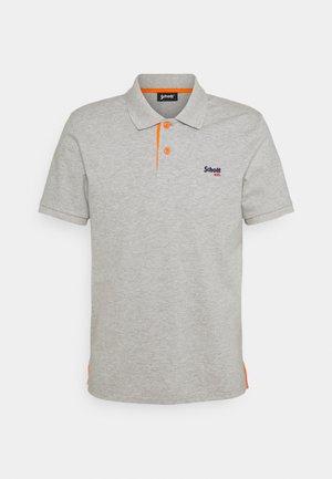 PSMILTON - Polo shirt - grey/ orange