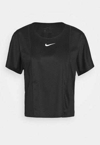 CITY SLEEK - T-shirts - black/white