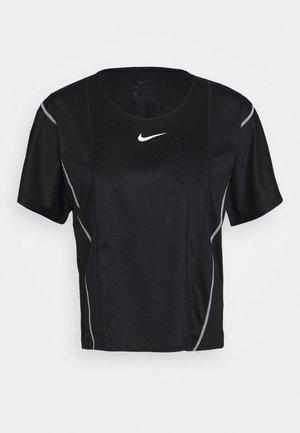 CITY SLEEK - T-shirt basic - black/white