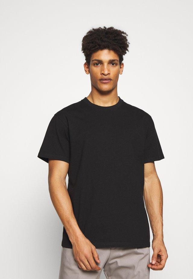 SAMUEL - T-shirt basic - schwarz