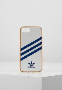 adidas Originals - MOULDED CASE FOR IPHONE - Telefoonhoesje - white/collegiate navy - 0