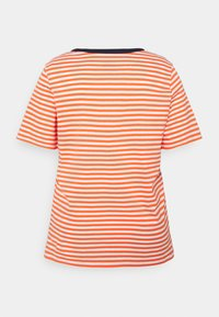 MY TRUE ME TOM TAILOR - Print T-shirt - red white - 1