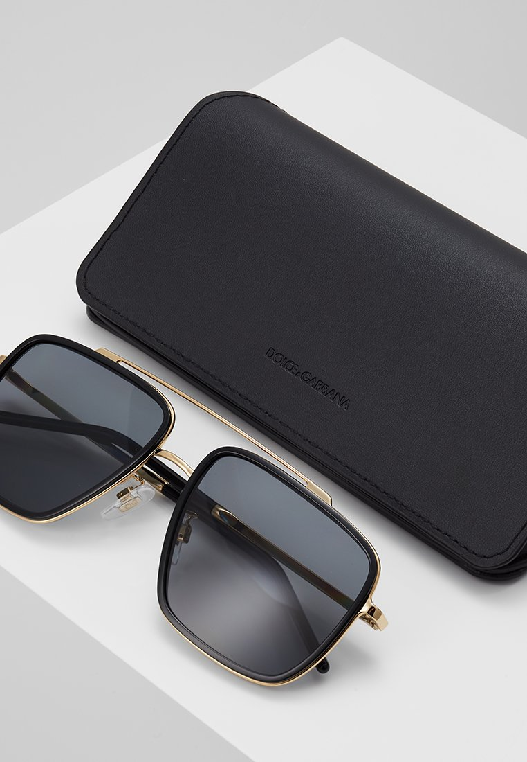 DolceGabbana Sonnenbrille - gold-coloured/black/schwarz - Herrenaccessoires idPO4
