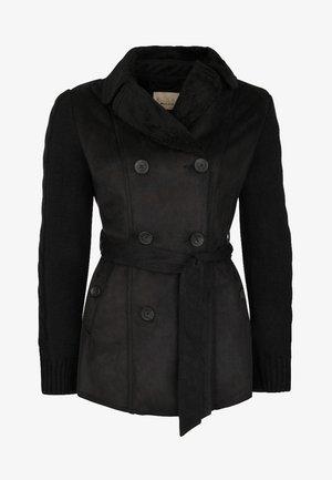 ROOSEVELT KURZMANTEL  - Light jacket - schwarz