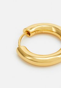 Astrid & Miyu - VINTAGE COLLECTION CHUNKY HOOPS - Náušnice - gold-coloured - 3