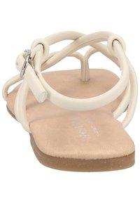 Scapa - T-bar sandals - ecru - 3