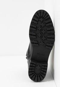 Anna Field - Cowboy/biker ankle boot - black - 6