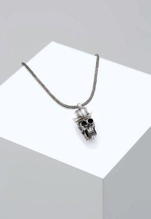 TOTENKOPF - Necklace - silver-coloured