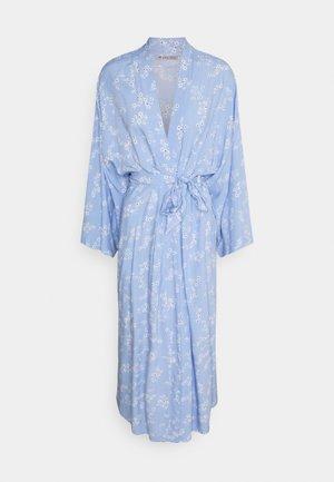 Dressing gown - blue denim