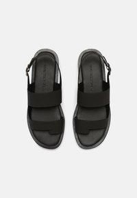 Who What Wear - ASHLEY - T-bar sandals - black - 4