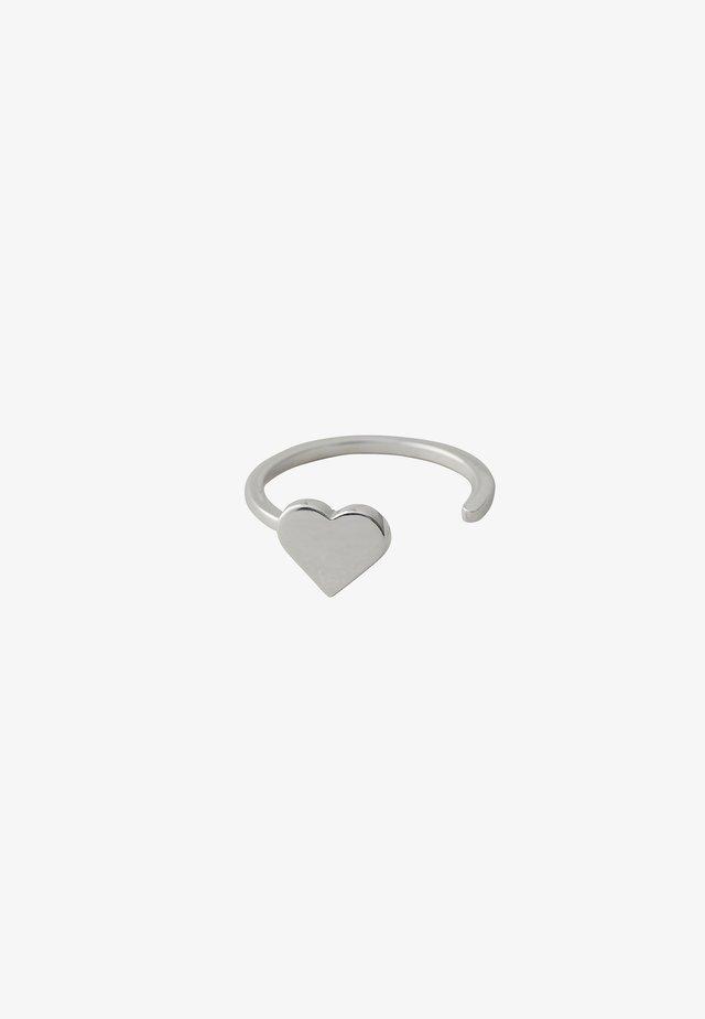 HEART RING - Ringe - silver