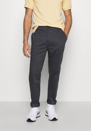 PANT - Tygbyxor - smoke grey