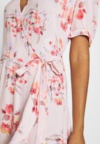 YAS - YASSINA ANKLE WRAP DRESS - Maxi dress - pale lilac - 5