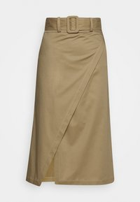 Mykke Hofmann - RAESA CTHICK - A-line skirt - beige - 2