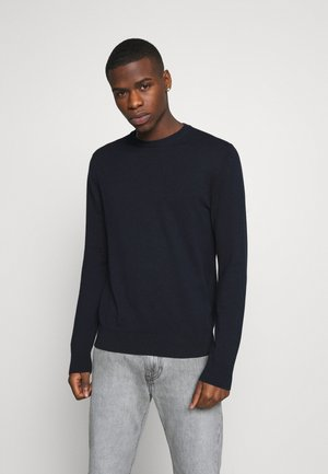 FINE GAUGE CREW  - Jumper - navy