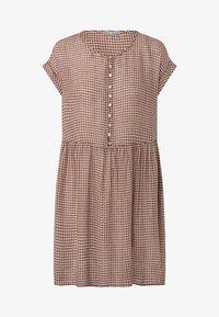 OYSHO - GINGHAM  - Day dress - brown - 4