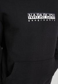 Napapijri - B-BOX HOODIE - Hoodie - black - 4