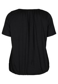 Zizzi - Basic T-shirt - black - 5