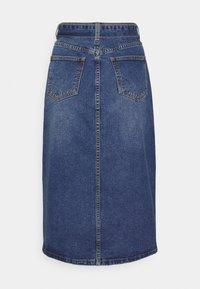 Object - OBJJADA SKIRT  - Pencil skirt - medium blue denim - 1