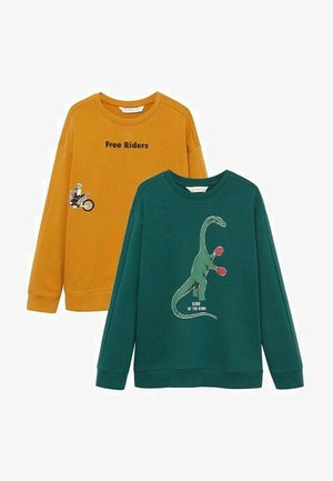 2 PACK - Sweatshirt - moutarde