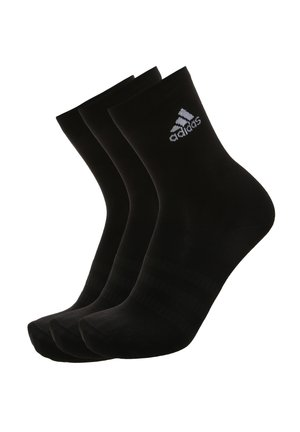 3ER-PACK  - Sports socks - black / white