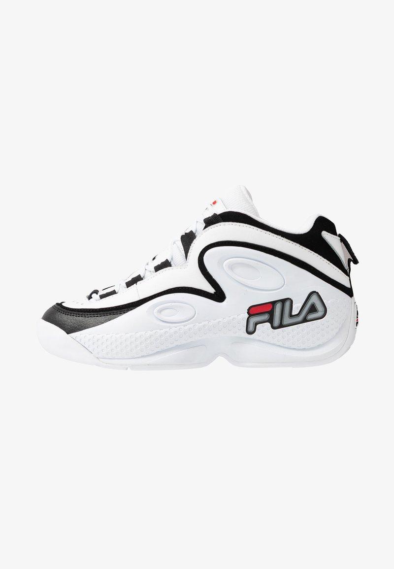 Fila - GRANT HILL 3 - Sneakersy wysokie - white/black