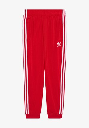 ADICOLOR PRIMEGREEN PANTS - Pantaloni sportivi - scarle/white
