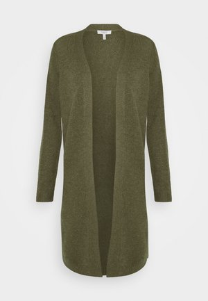 BYMIRELLE LONG CARDIGAN - Cardigan - melange olive night