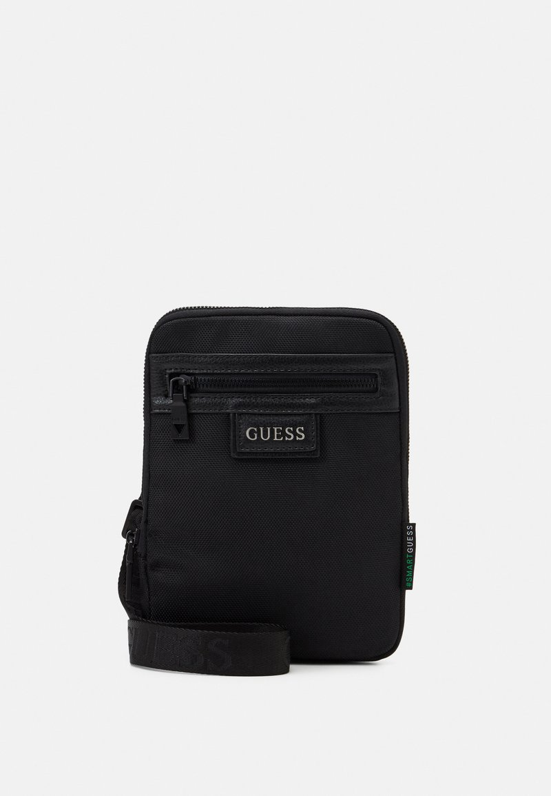 Guess - MASSA CONVERTIBLE CROSSBODY - Across body bag - black