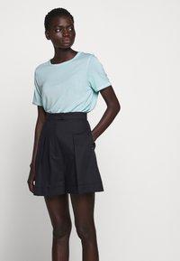 Bruuns Bazaar - KATKA ALICIA TEE - Basic T-shirt - dream blue - 4