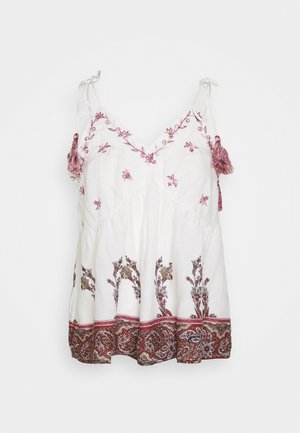YASFILIPPA SINGLET FEST - Top - star white/emery