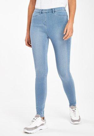 Kalhoty - mottled blue