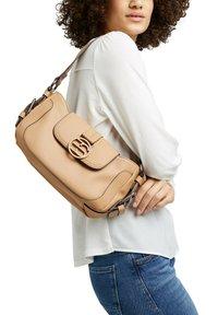 Esprit - HALLIE  - Handbag - camel - 1