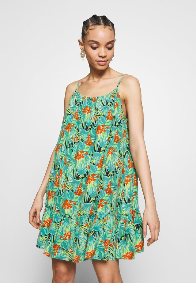 DAISY BEACH DRESS - Day dress - green