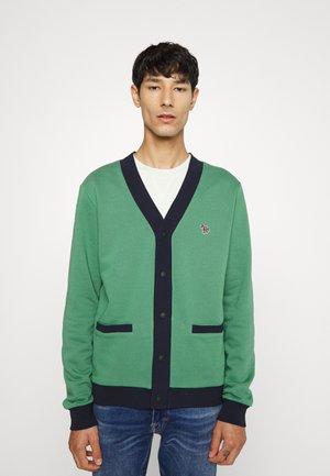 CARDIGAN - Zip-up sweatshirt - green
