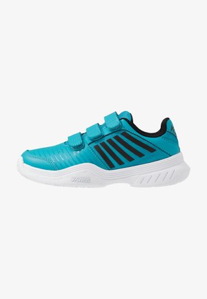 COURT EXPRESS STRAP OMNI UNISEX - Multicourt tennis shoes - algiers blue/white