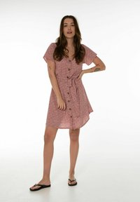 Protest - UNNA  - Day dress - terracota - 1