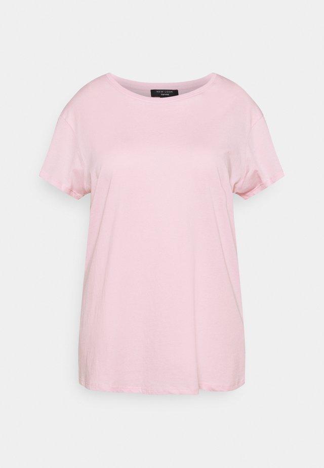 BOYFRIEND TEE - T-shirt basique - mid pink