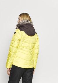 Icepeak - VIDALIA - Skijakke - yellow - 2